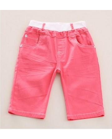 New 2017 boys summer hue shorts red casual shorts