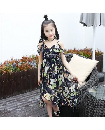 2017 new summer Bohemian dress chiffon MAXI Dress can choose black white shawl