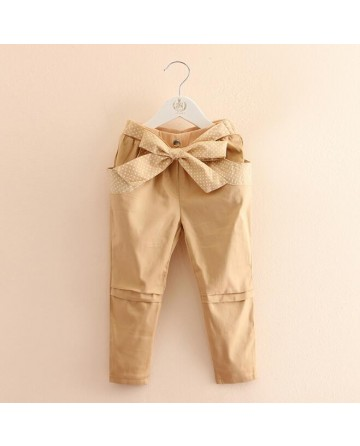 Girl apricot Slim trousers