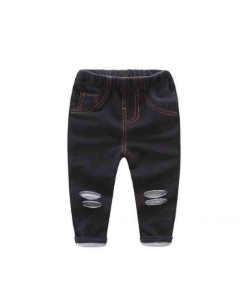 New summer boys black hole jeans