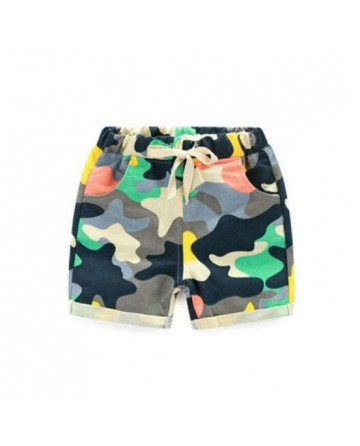 summer boy's camouflage shorts