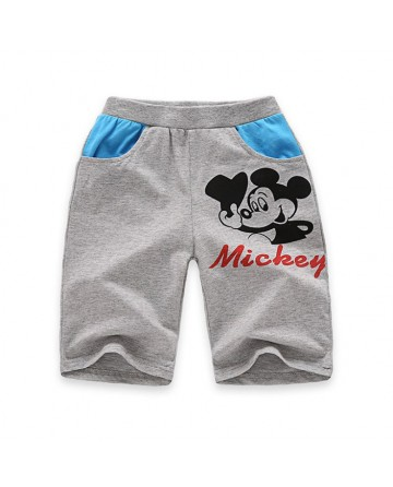 2017 New boy's 'Mickey'  pattern casual shorts