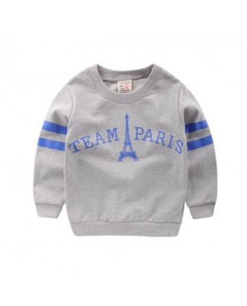 2017 Spring New kids sweater,boys printed clothes.