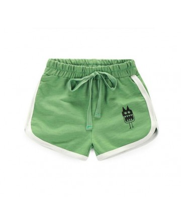 boy's simple color cartoon beach pants/shorts