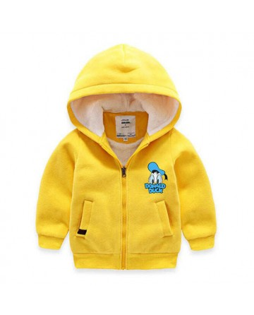 Boy's cartoon 'Donald Duck' hooded sweater / jacket