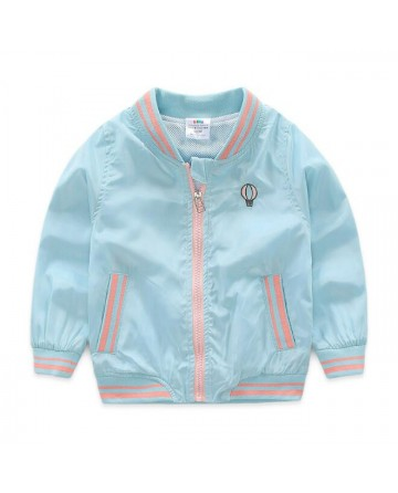 boy's collar zipper baseball coat / jacket