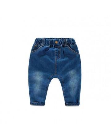 2017 Summer kids blue denim shorts