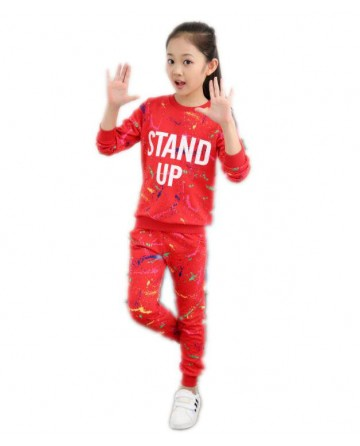 Girl prints alphabet fashion sportswear