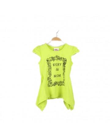Summer girl prints short sleeves T-shirt