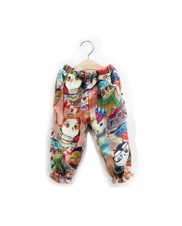 Girl's cartoon casual pants
