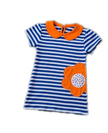 Girls classic cotton stripes t-shirt