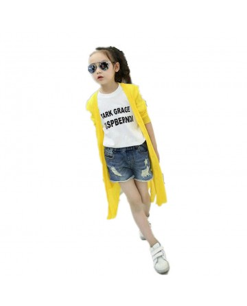 2017 long section of pure color sunscreen coat