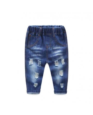 2017 Spring boys hole jeans