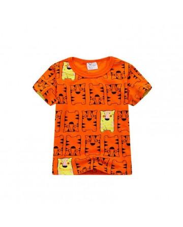 Boy's print short sleeve T shirt