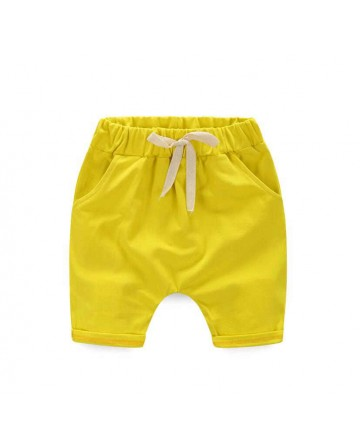 boy's leisure cartoon 'Donald Duck' cotton shorts/capri pants