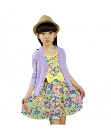Summer girls lace hollow solid color sunscrenn shirt