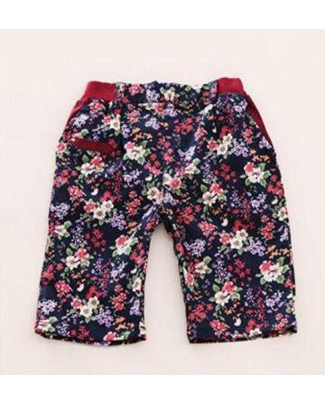 2017 summer boys cotton printed beach shorts