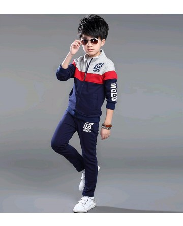 Spring boy's sweater and trousers two sets