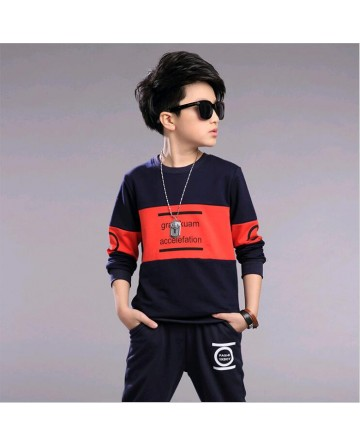 2017 Spring boys  printed pant sets