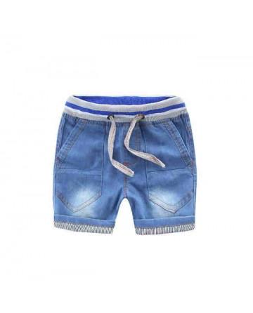 New 2017 summer boys cotton denim shorts