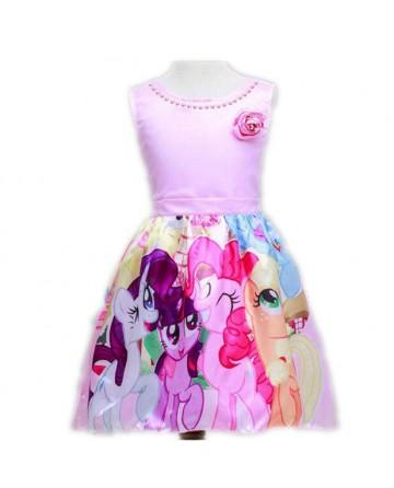 Summer new roses princess skirt