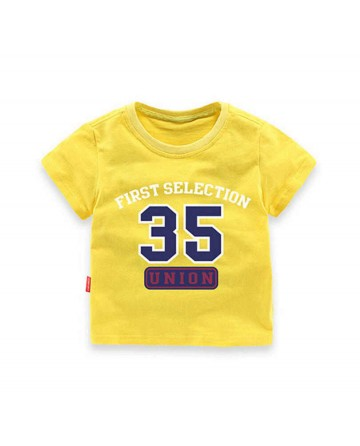 '35' boy's short sleeve t-shirt