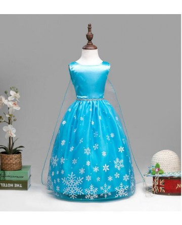 Snow and ice snowflake mark lace princess skirt