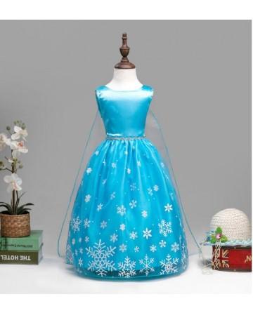 Snow and ice snowflake mark lace princess skirt