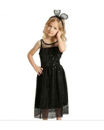Summer girls bright ball princess dress